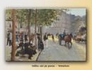 Foto O duminica dupa-amiaza (90x60cm) - Reproducere Jean Béraud