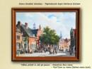 Foto Scena stradala olandeza - Repro Adrianus Eversen (92x72cm cu rama)