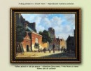 Foto A Busy Street in a Dutch Town (80x60cm)- tablou  Adrianus Eversen