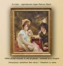 In Love - Repro Marcus Stone - tablou cu rama 70x60cm