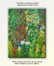 Foto Gradina cu floarea soarelui - 80x60cm - repro Gustav Klimt