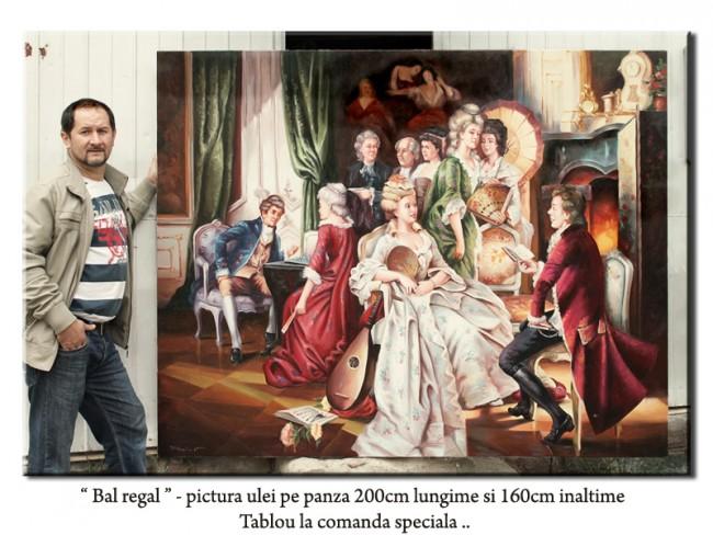 tablou bal regal 200x160cm