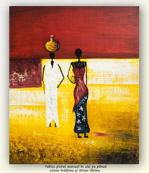 După apă (5) - pictura 60x50cm