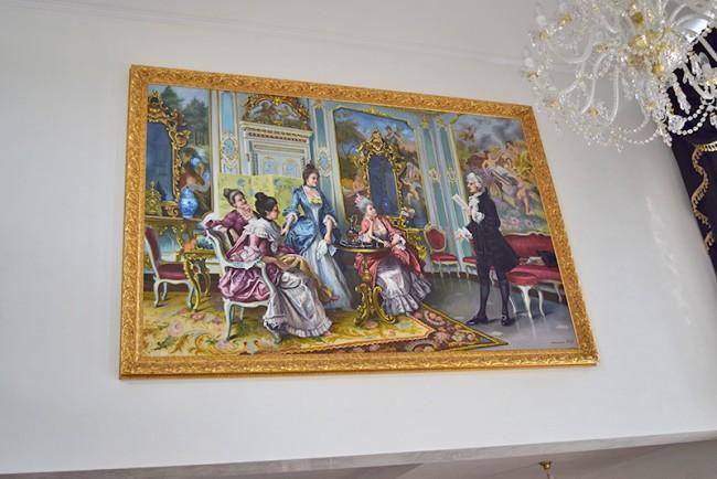 Tablou GIGANT 300x150cm - pictat la comanda speciala