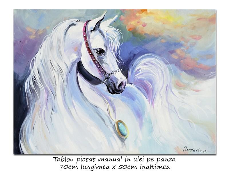 Mistral - 70x50cm pictura cal ulei pe panza, Magnific!