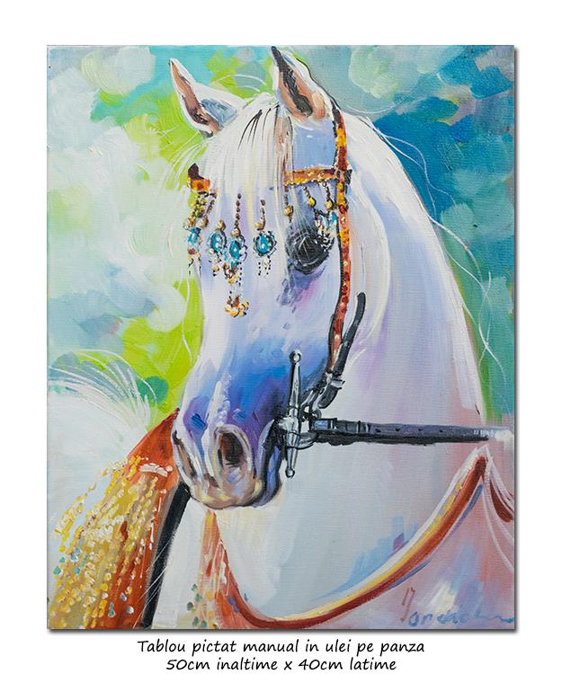 Amadeus - 50x40cm pictura cal ulei pe panza, Superb!