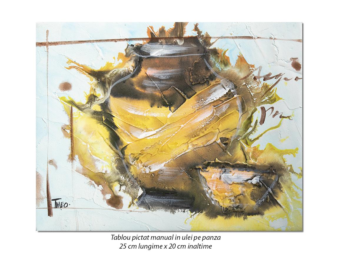 Mini tablou Antic (10) - 25x20cm ulei pe panza