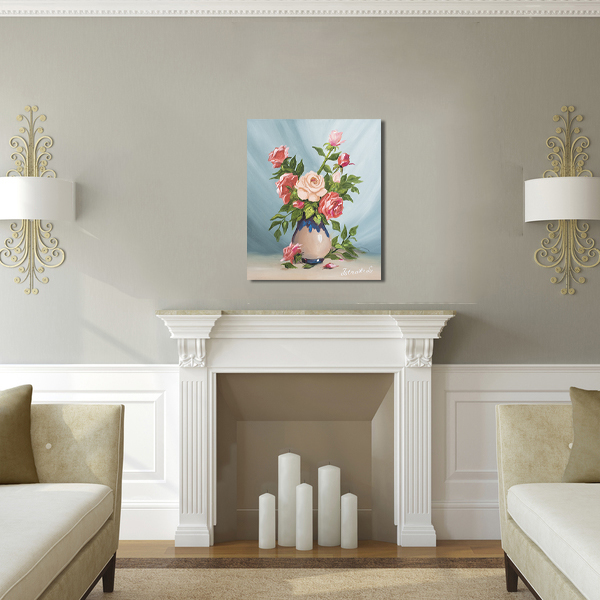 acum tabloul expus pe perete (2)