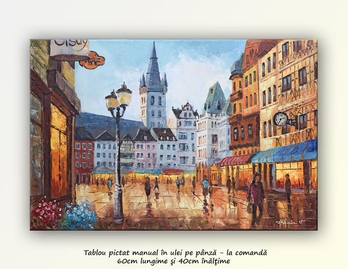 Trier - Germania, tablou realizat la comanda speciala. Poza 64963