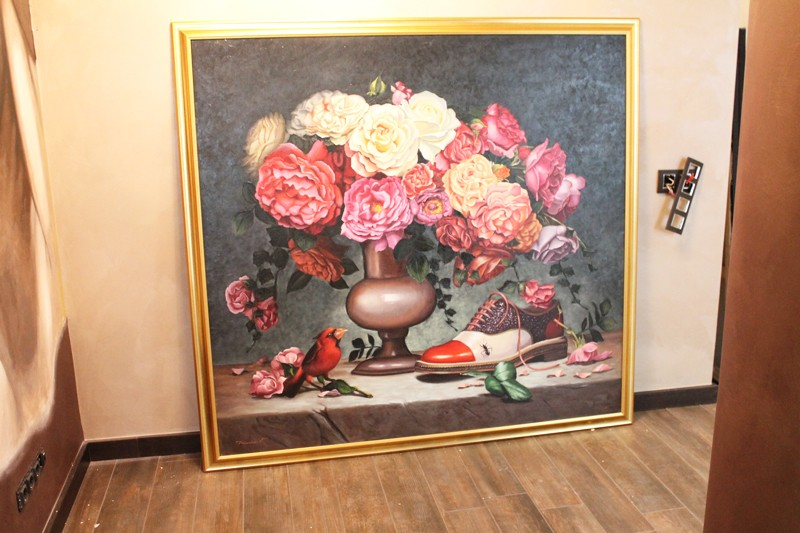 Tablou complex GIGANT (1), pictat la comanda 160x150cm. Poza 65750