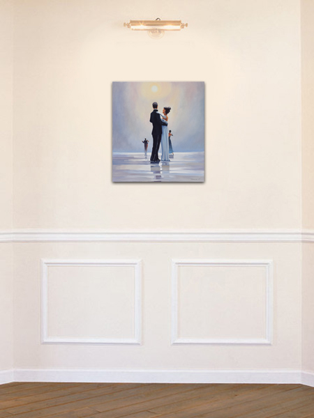 Dance me to the End of Love - tablou pictat manual ulei pe panza - repro Jack Vettriano. Poza 68752