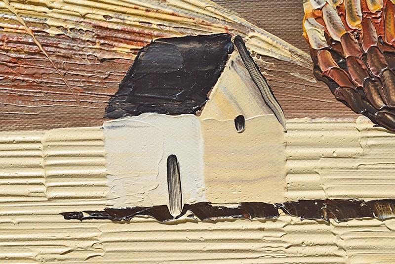 Tablouri living, dormitor - Sezon galben - tablou triptic 180x90cm. Poza 69129