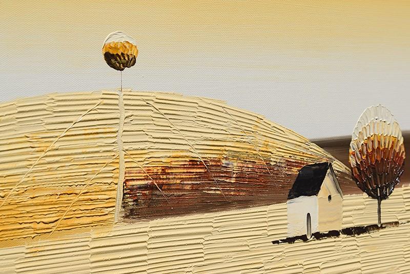 Tablouri living, dormitor - Sezon galben - tablou triptic 180x90cm. Poza 69131