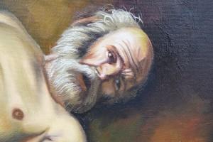 Poza detaliu pictura ...