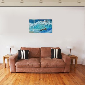 Poza tabloul expus pe perete (3)