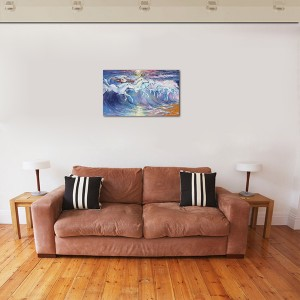 Poza tabloul expus pe perete (2)
