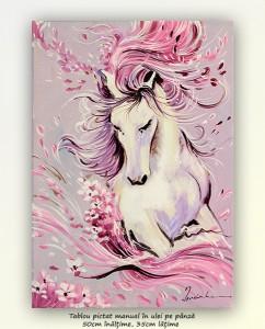 poza Principesa - 50x35 cm pictura ulei pe panza, Magnific!