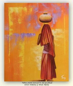 poza Port african (2) - tablou ulei pe panza 60x50cm