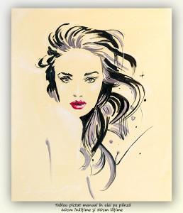 poza Interesant (...) - 60x50cm, tablou modern ulei pe panza, Superb!