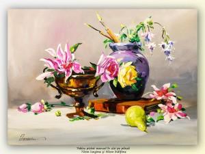 poza Inspiratie - 70x50cm pictura ulei pe panza, Magistral