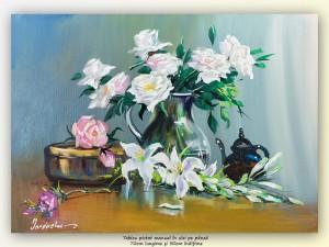 poza Puritate - 70x50cm pictura ulei pe panza, Magistral