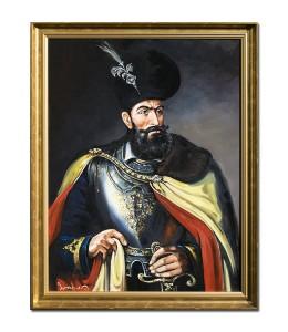 poza Mihai Viteazul - pictura ulei pe panza 80x60cm, La comanda!