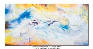poza Maini creatoare - 120x60cm pictura ulei pe panza - MAGISTRAL!