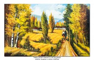 poza La bunici, amintiri din copilarie - 100x60cm pictura ulei pe panza, Magnific!