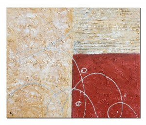 poza Tablou abstract office (7) - 60x50cm ulei pe panza, Superb!