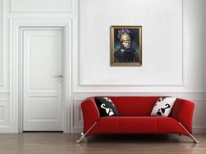 acum tabloul expus pe perete (6)