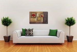 Poza acum tabloul expus pe perete (3)