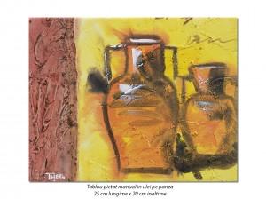 poza Mini tablou Antic (7) - 25x20cm ulei pe panza