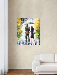 Poza acum tabloul expus pe perete (1)