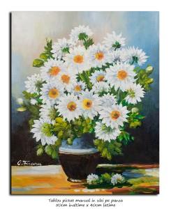 poza Margarete, margarete - 50x40cm pictura ulei pe panza, Superb@
