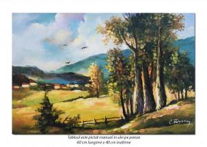 poza Crampei din natura (4) - 60x40cm tablou in ulei pe panza, Superb!