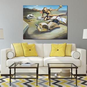 tabloul expus pe perete