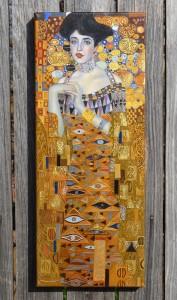 poza Portretul Adelei Bloch-Bauer I - repro G. Klimt - La comanda