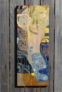 poza Friends - reproducere Gustav Klimt - La comanda