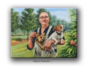 poza Tablou portret - pictura complexa