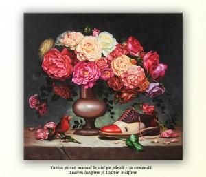 Poza Tablou complex GIGANT, pictat la comanda 160x150cm