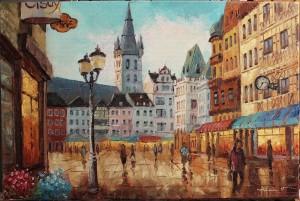 Poza Trier - Germania, tablou realizat la comanda speciala. Poza 64964