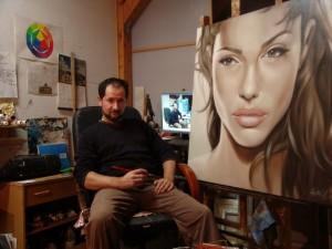 poza Tablou Portret la comanda - 1 personaj