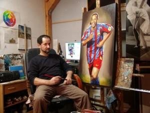 Tablou Portret la comanda - 1 personaj. Poza 65726