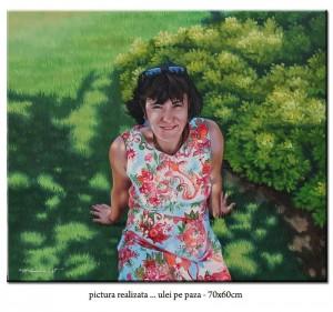 poza Tablouri portrete pictate manual, comanda speciala din Austria