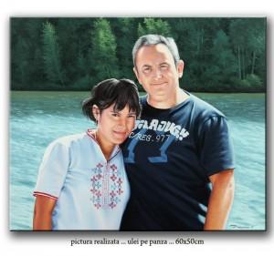 Tablouri portrete pictate manual, comanda speciala din Austria. Poza 65736