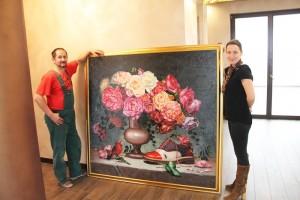 poza Tablou complex GIGANT (1), pictat la comanda 160x150cm