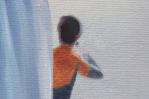 Dance me to the End of Love - tablou pictat manual ulei pe panza - repro Jack Vettriano. Poza 68757