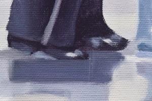 Poza Dance me to the End of Love - tablou pictat manual ulei pe panza - repro Jack Vettriano. Poza 68758