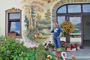 Poza Pictura exteriora - pensiune. Poza 68773