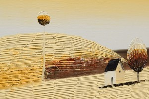 Poza Tablouri living, dormitor - Sezon galben - tablou triptic 180x90cm. Poza 69131